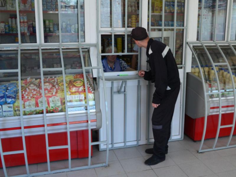 Незаконный магазин на базе колонии